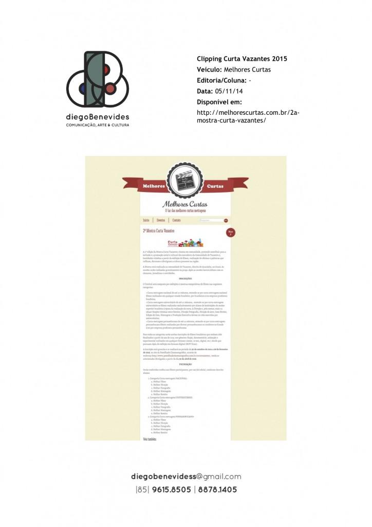 Curta Vazantes - Melhores Curtas_051114